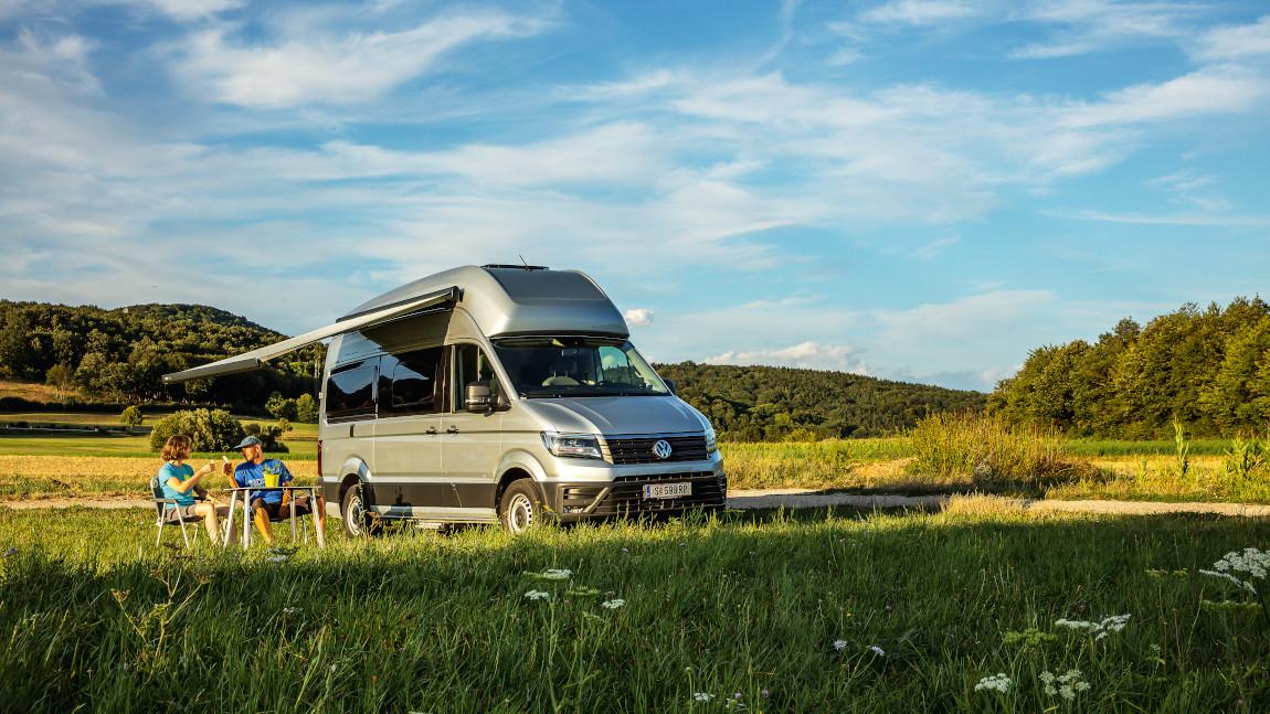 Übernachten im VW Grand California: Der neue Horizont