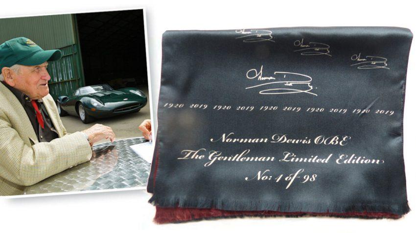 Tribute-Schal: Begeisterung am Hals