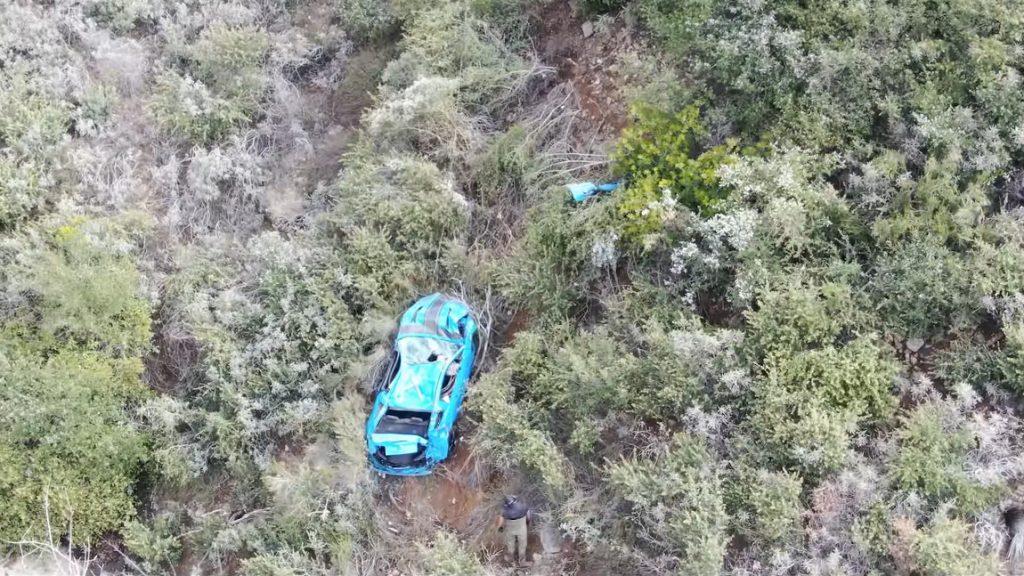 Wie birgt man einen Mustang, der 120 Meter tief abgestürzt ist?
