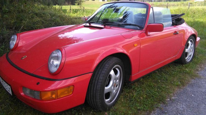 Porsche 964 Cabrio 911, Typ 964