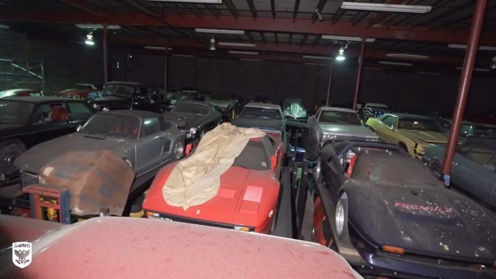 Eine atemberaubende Autosammlung, ein Bizzarrini P538 und die erste Wäsche nach 32 Jahren
