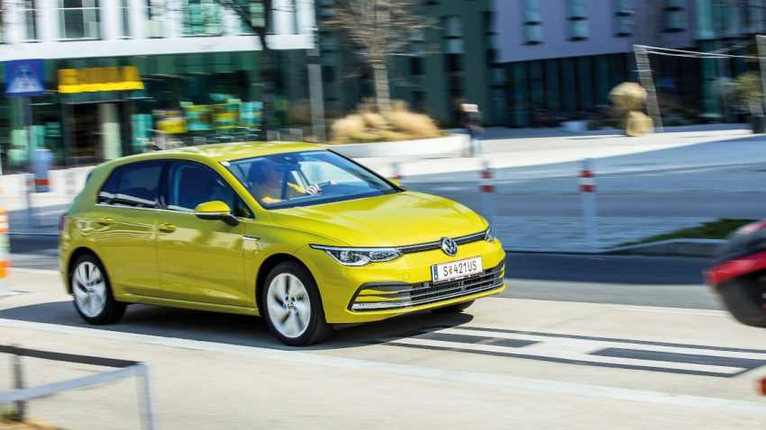 Test VW Golf eTSI Style: Schlankes für die breite Masse