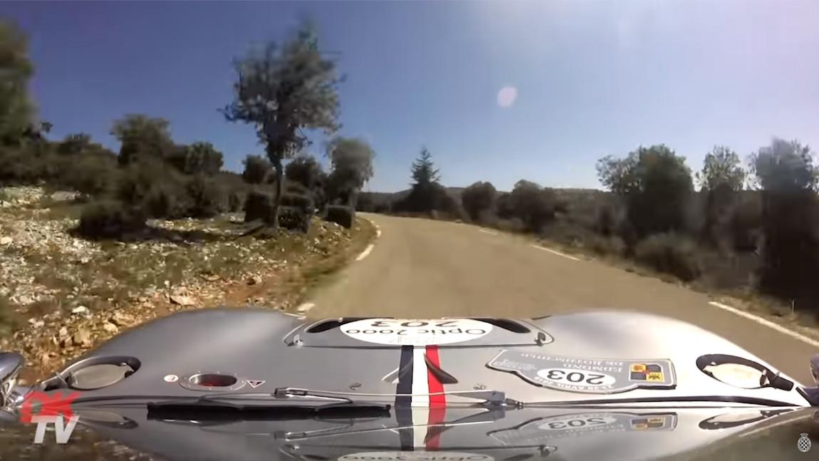 6 Minuten Rallye-Action mit dem Ford GT40 Mk1