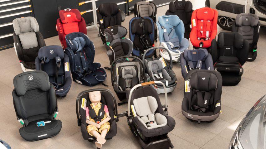 """Kindersitz-Test 2020: 23 Modelle von """"gut"""" bis """"genügend"""""""
