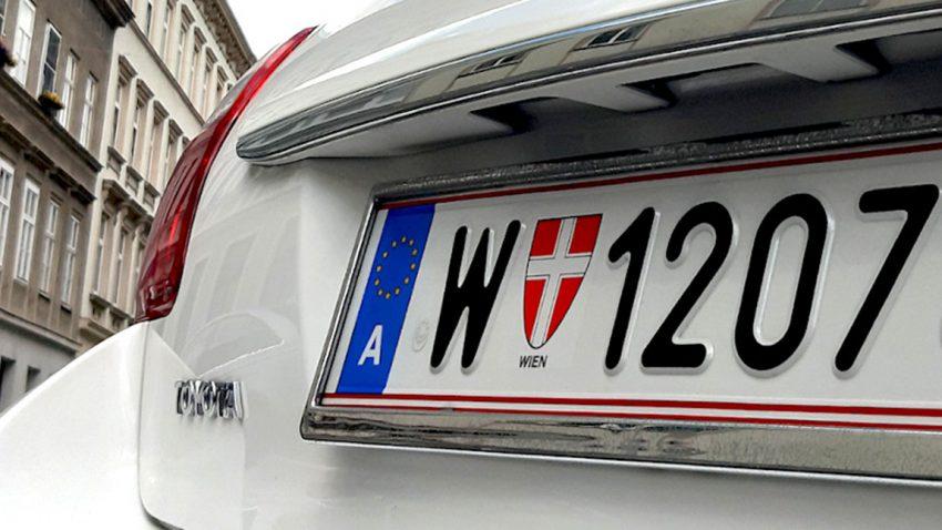 Auto-Kennzeichen in Österreich: Infos und Wissenswertes