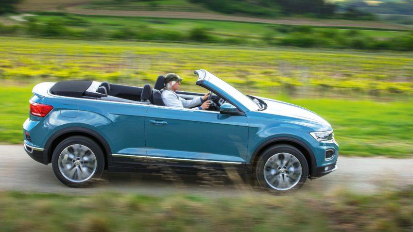 VW T-Roc Cabrio: Den T-Roc geschürzt