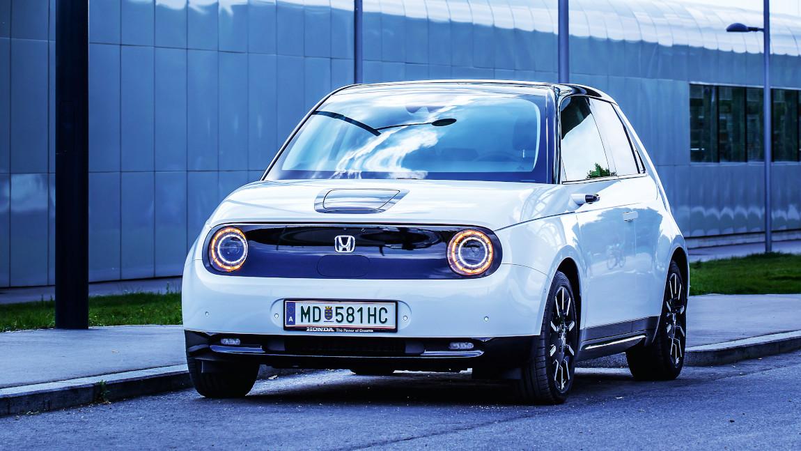 Honda e Advance: Hondamat