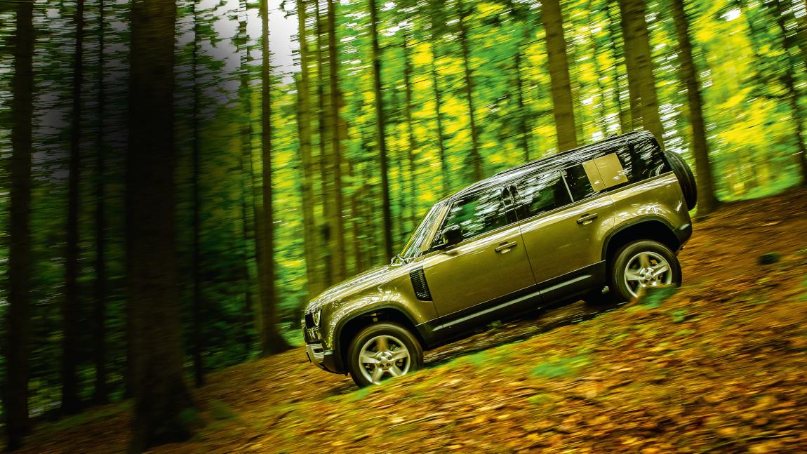 Land Rover Defender 110 SE D240: Rule, Dingstannia!