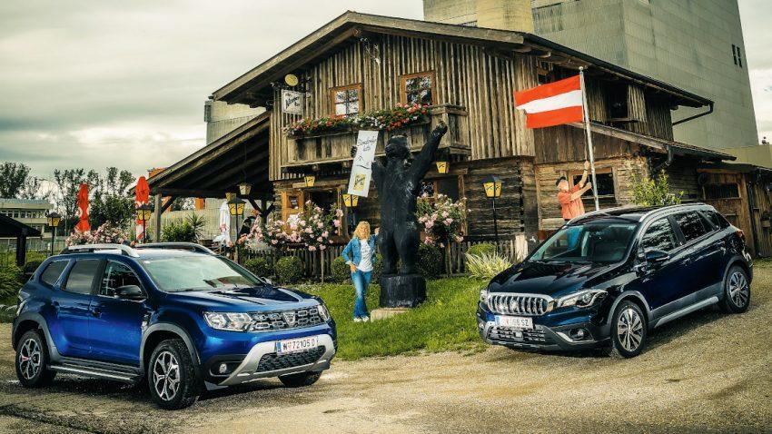 Alltag mit Allrad: Dacia Duster VS. Suzuki SX-4 S-Cross