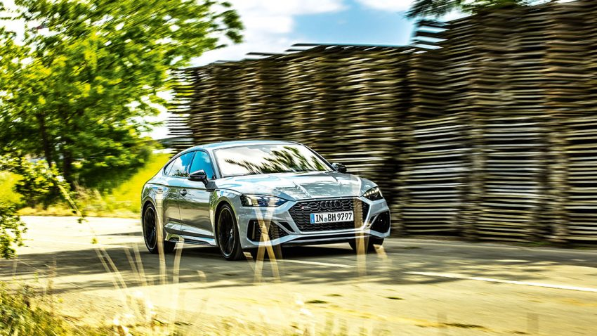 Audi RS5 Sportback 2,9 TFSI quattro tiptronic: Dezenz und Vehemenz