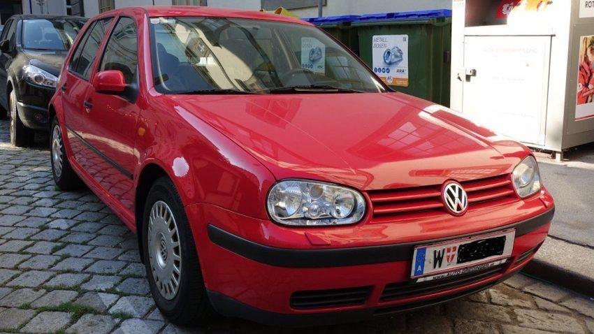 VW Golf IV 1,9 TDI Comfortline (verkauft)