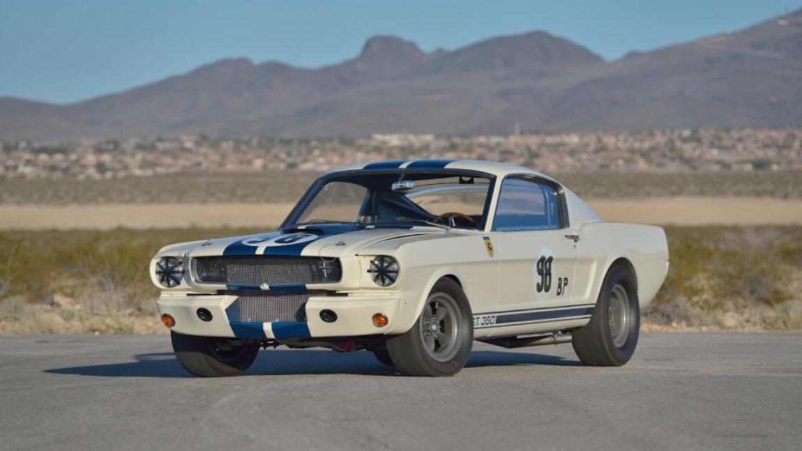 """1965er Shelby GT350R Prototyp: Der neue """"teuerste Mustang aller Zeiten"""""""