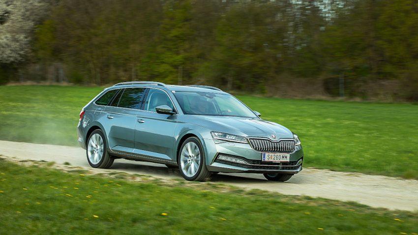 Škoda Superb Combi iV DSG: Länger laden
