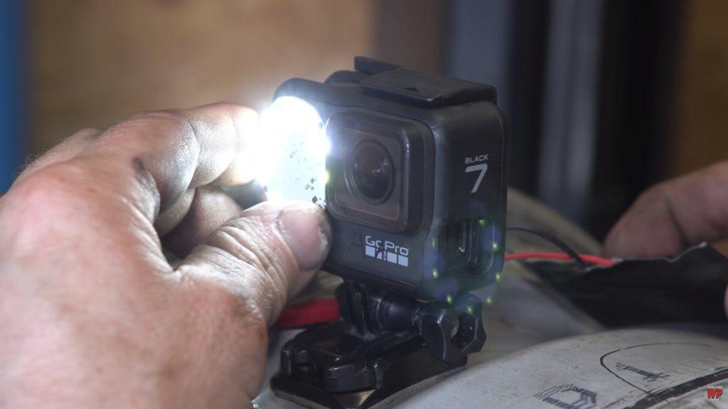 GoPro im Autoreifen: Fahrt aus der Felgenperspektive [+Burnout]