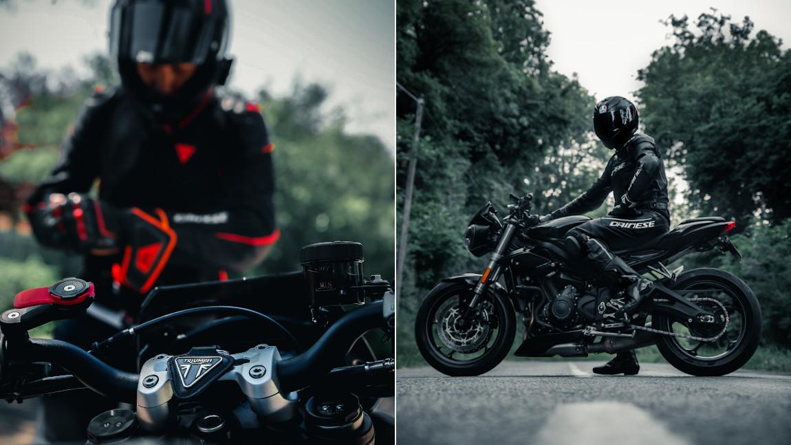 Motorradbekleidung von Kopf bis Fuß