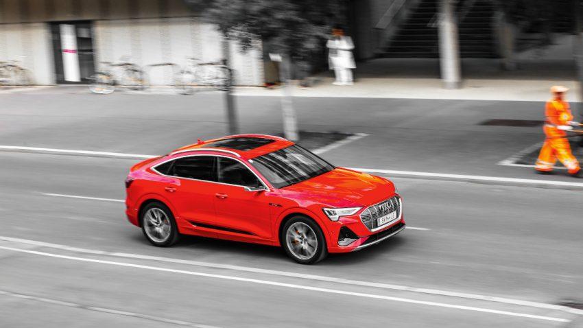 Audi e-tron Sportback S-Line 50: Warum in die Ferne schweifen?