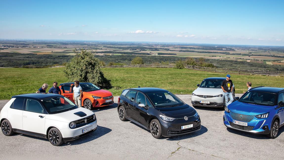 Die neuen Elektroautos im Vergleich: Das große Flüstern