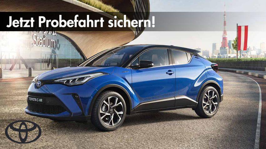 Kostenlose Probefahrt: Jetzt die neuesten Toyota-Modelle unverbindlich kennenlernen!