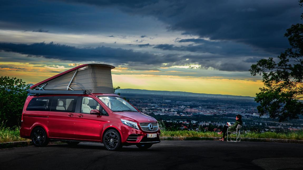 Mercedes-Benz Marco Polo: Hundert Sachen