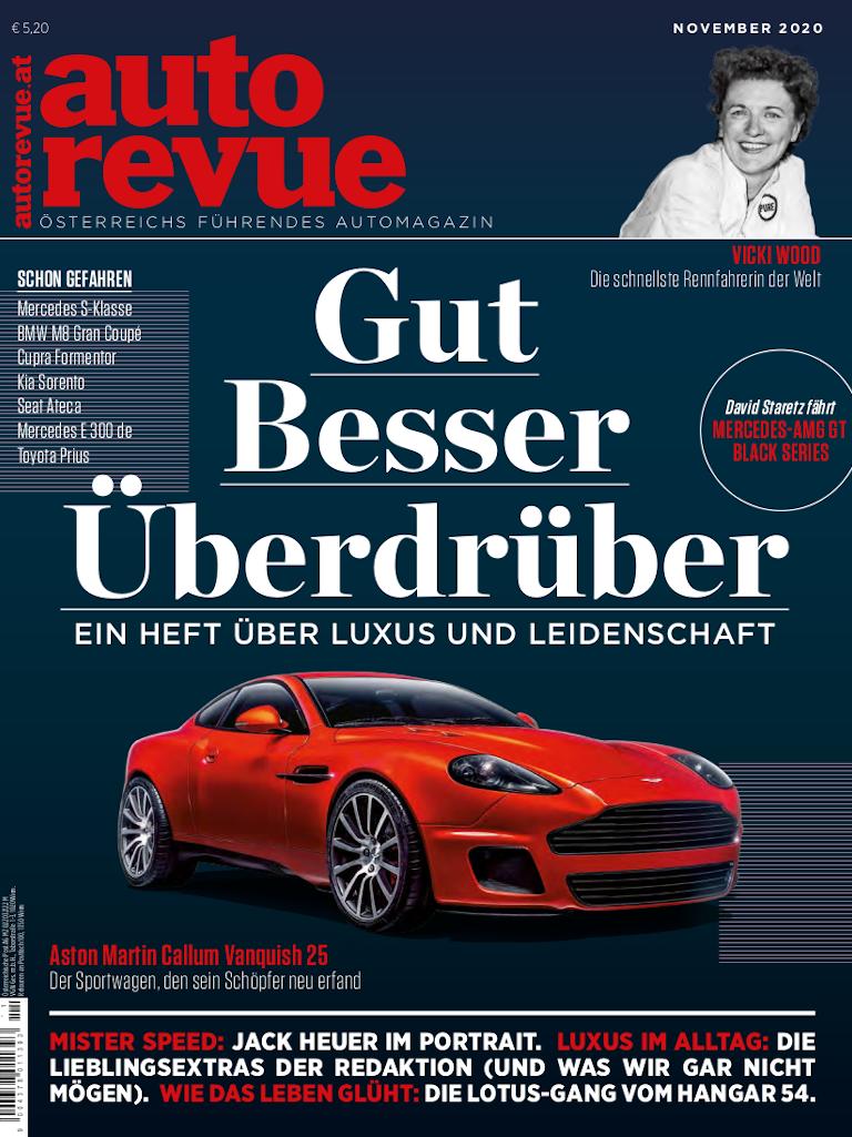autorevue Magazin: Ausgabe 11/2020
