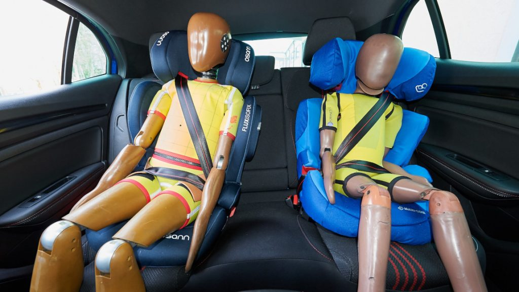 Kindersitzpflicht im Auto