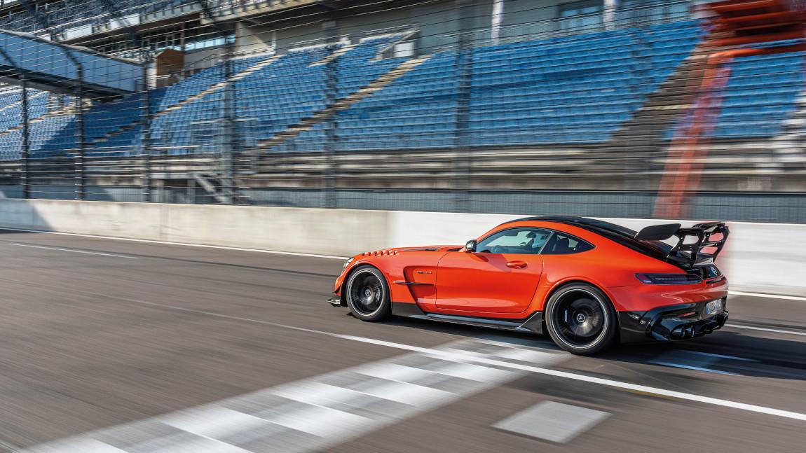 Mercedes-AMG GT Black Series: Kajal und Rauch