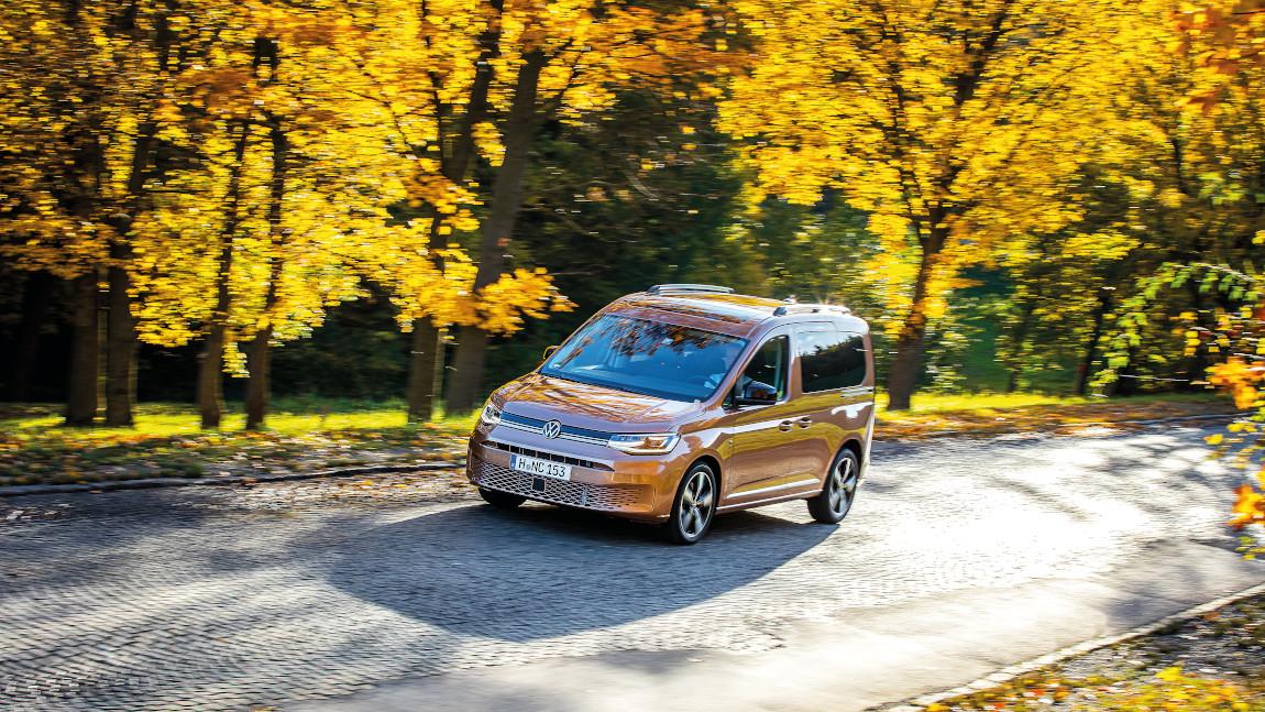 VW Caddy: Es darf gerechnet werden