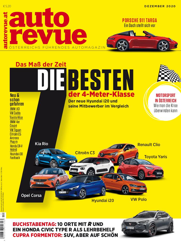 autorevue Magazin: Ausgabe 12/2020