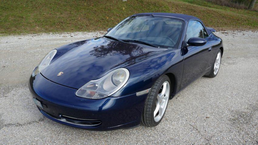 Porsche 911 Carrera Cabrio Tiptronic (verkauft)