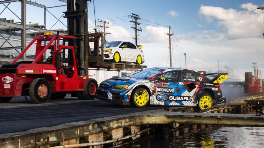 Gymkhana 2020: Travis Pastrana im Subaru WRX STI