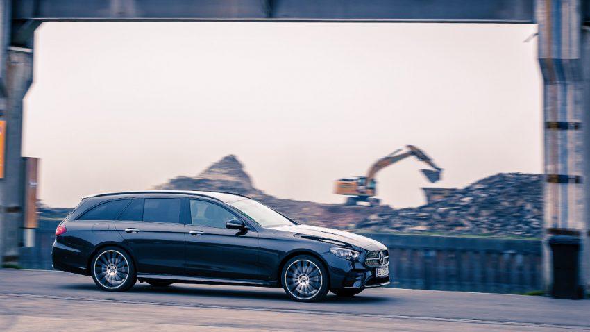 Mercedes-Benz E 400 d 4Matic T-Modell: Der lange, saftige Fluss