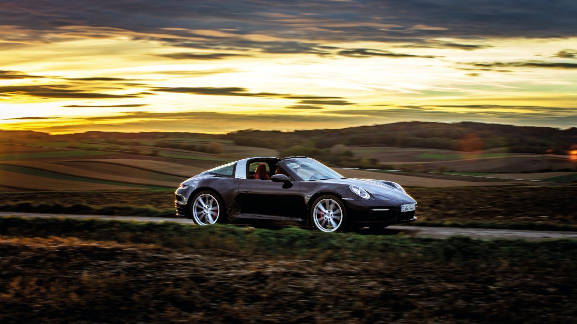 Porsche 911 Targa 4S: Dachvorsprung