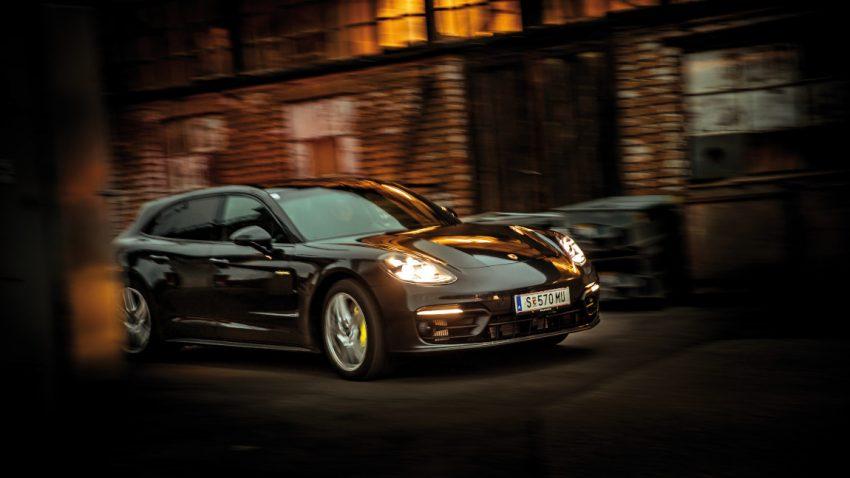 Porsche Panamera 4S E-Hybrid Sport Turismo: Überall und immer König