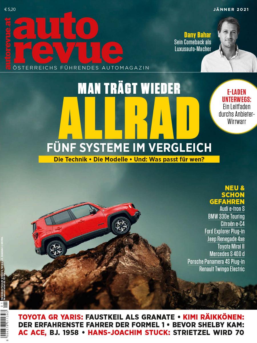 autorevue Magazin: Ausgabe 1/2021