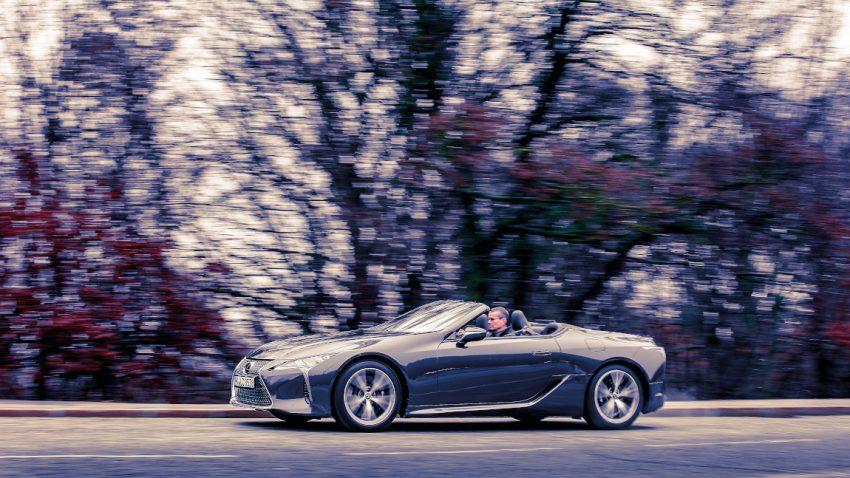 Lexus LC 500 Cabriolet: Winterkreuzfahrt