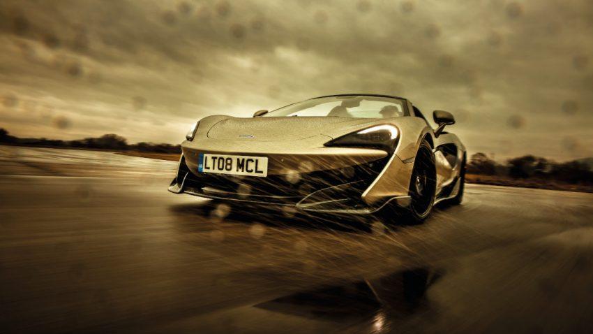 McLaren 600LT Spider: Auf Kartätschen laufend