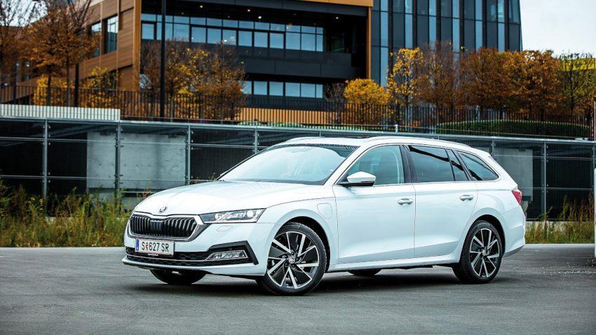 Škoda Octavia Combi Plug-in-Hybrid: Mehr Plug als Plag'