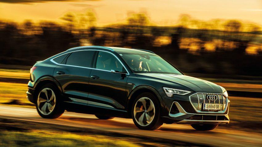 Audi e-tron 55 quattro: Drei Monate ohne Zapfsäule