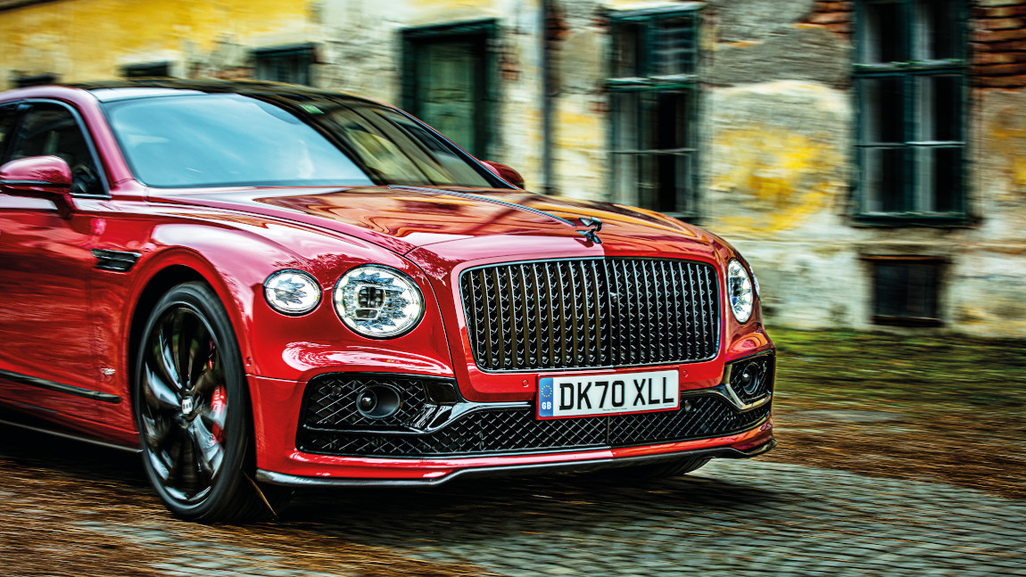 Bentley Flying Spur V8: Acht kracht