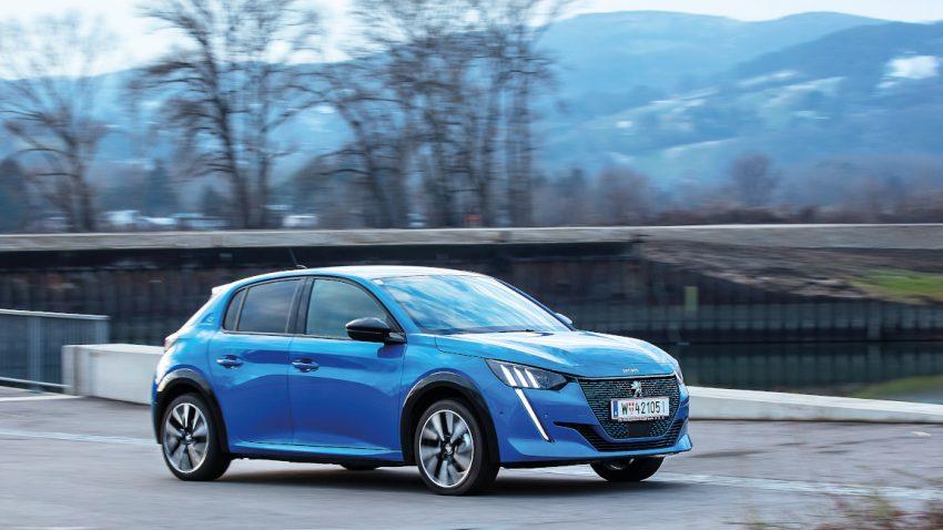 Peugeot e-208: Da kann ja jeder kommen
