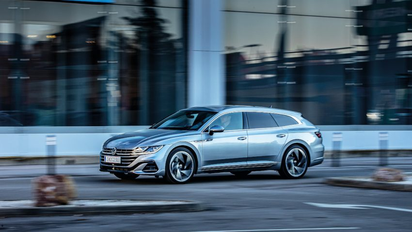 VW Arteon Shooting Brake: Roll over Heimatfilm