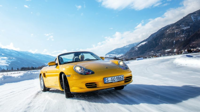 25 Jahre Porsche Boxster: Rückblick mit Walter Röhrl