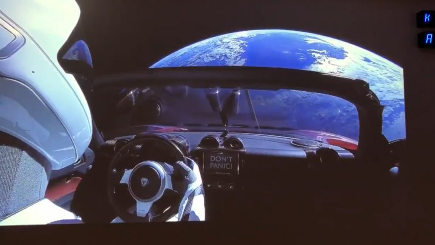 2,4 Milliarden Kilometer: Tesla Roadster seit drei Jahren im Weltall unterwegs