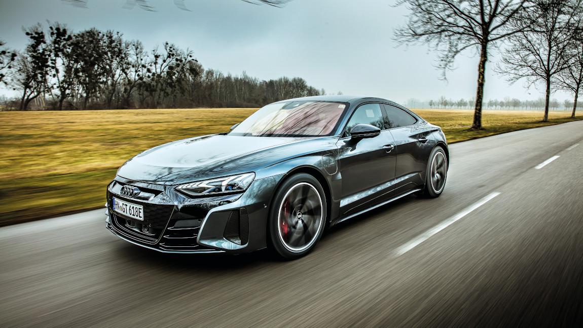 Audi e-tron GT: Power-Yoga in der Kraftkammer