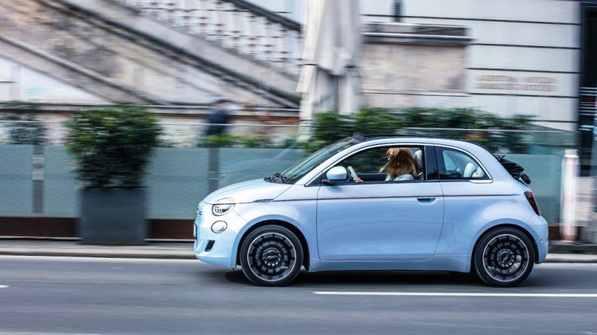 Fiat 500e La Prima Cabrio: Die neue Luftigkeit