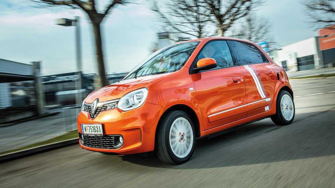 Renault Twingo Electric Vibes: Drei mal drei macht vier