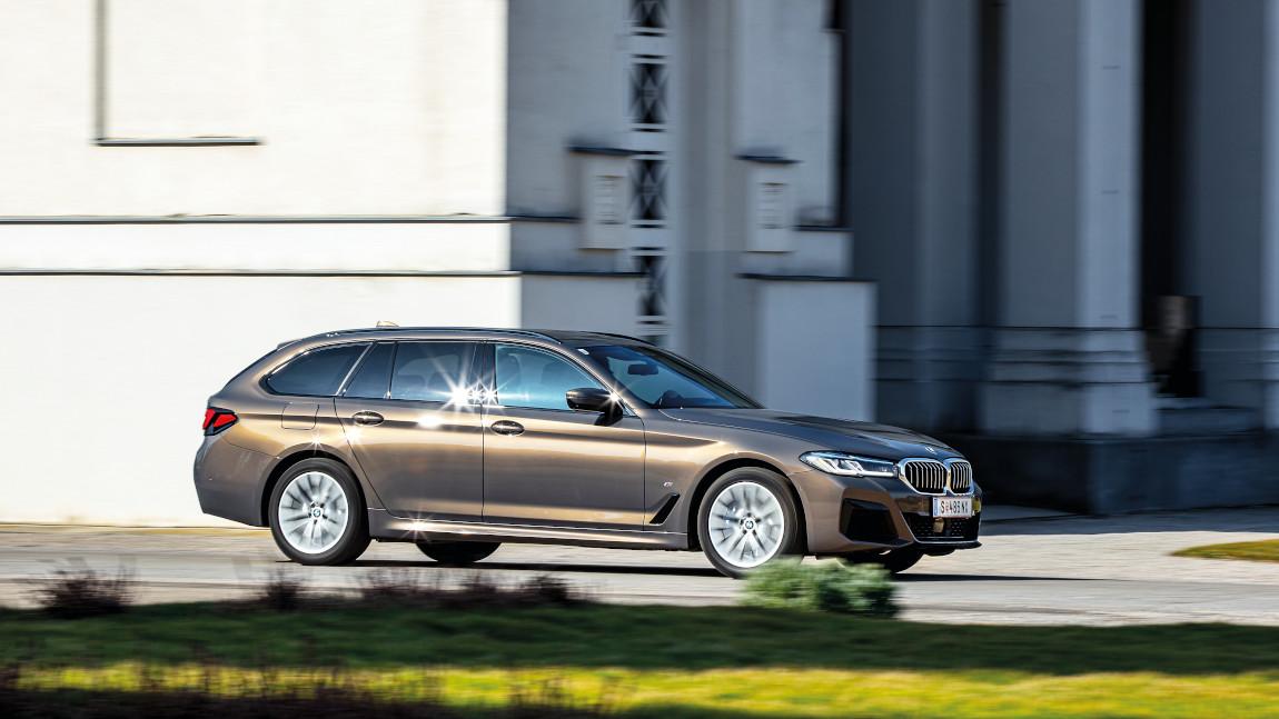 BMW 530d Touring: Jetzt ist schon wieder nichts passiert!