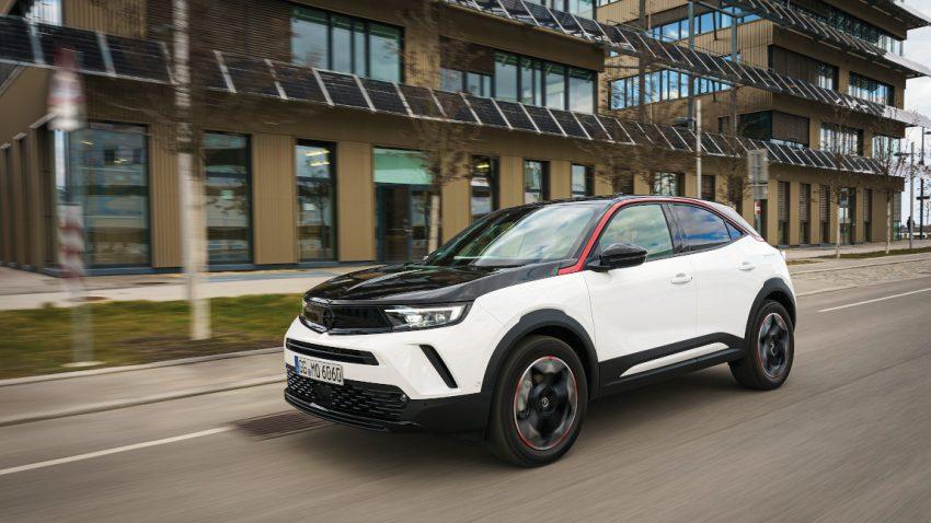 Opel Mokka: Body gebuildet