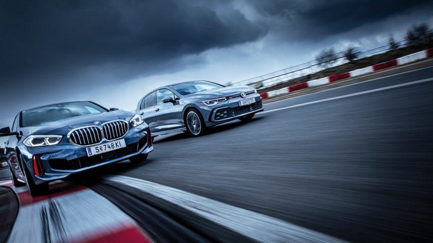 VW Golf GTI vs. BMW 128ti: Herrschaftszeiten!