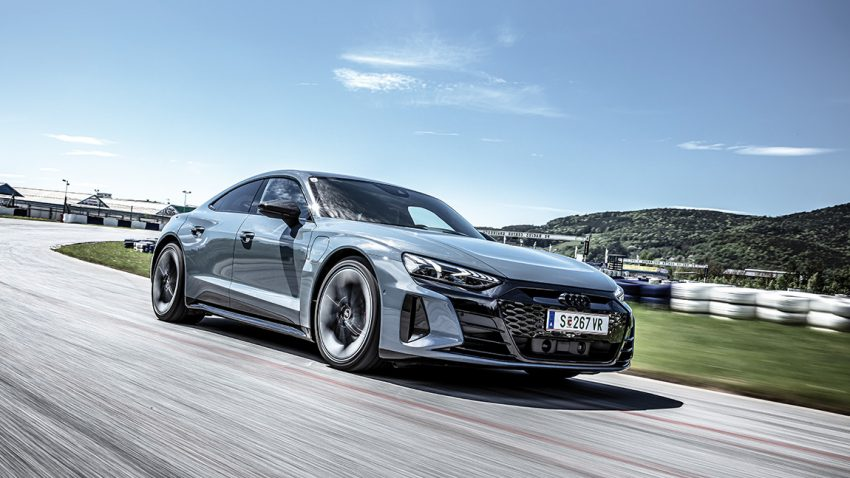 Audi RS e-tron GT: Expedition ins Profunde